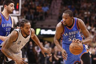"""""""Thunder"""" likimas serijoje su """"Spurs"""" priklausys nuo to, ar pavyks rasti sprendimą esminei sezono problemai"""
